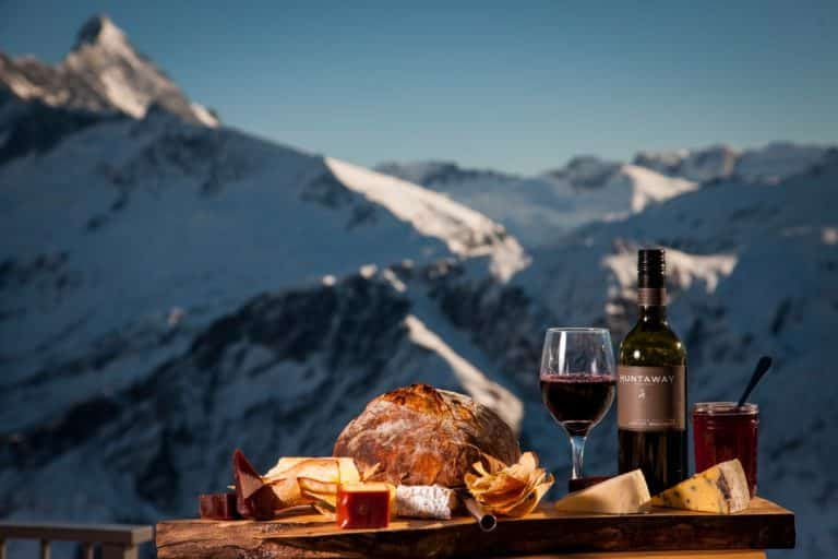 EAT AND DRINK whare kea luxury lodge